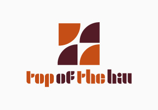 top of the hill / Logo